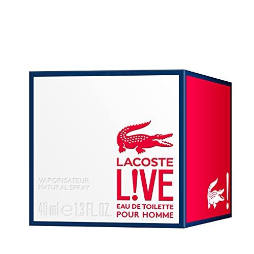 Lacoste L!VE Eau de Toilette for Him - Men's fragrance - 40ml
