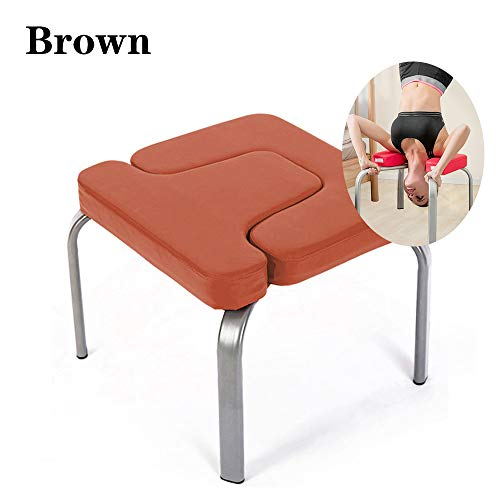 Lowest Price! Yoga Inverted Artifact Household Upside Down Stretched Inverted Chair Aid Small Fitnes...