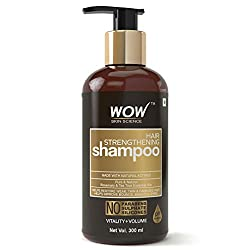low poo products ~ wow strengthening shampoo