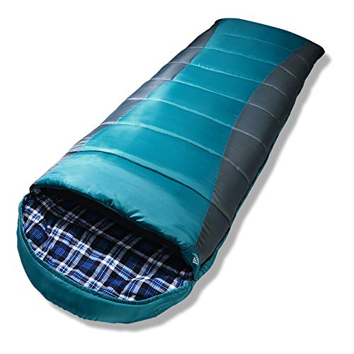 Forceatt Schlafsack für Camping 3-4 Jahreszeiten und kaltes Wetter (0 ℃ bis 20 ℃.) Leichtgewichtig, Wasserdicht und Warm für Erwachsene und Kinder 丨 Rucksackreisen, Camping, Wandern und Reisen.