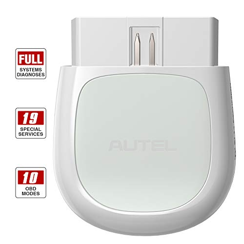 Autel MaxiAP AP200 Obd2 Scanner Auto OBDII Diagnostic Scan Tool for iOS & Android, Full System Car Check Engine Light Code Reader with Service Functions