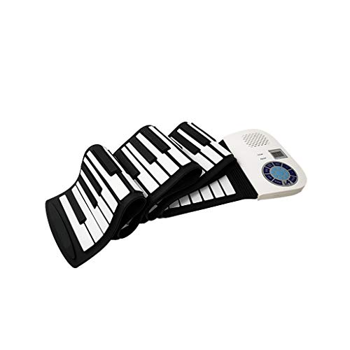 For Sale! LIUFS-Piano Hand Roll Piano 88 Key Portable Soft Beginner Keyboard Adult Beginner Entry El...