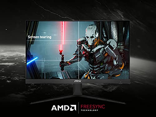 "MSI Optix G241 60cm (23,8"") FHD IPS Gaming-Monitor DP/HDMI FreeSync 144Hz 1ms, G241-013, Black"