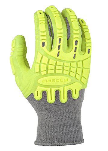 Madgrip Pro Palm Utility-Handschuhe, Größe M, Schwarz, PPTHVYR2X-HIVSYL