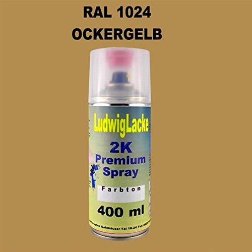 RAL 1024 OCKERGELB 2K Premium Spray 400ml