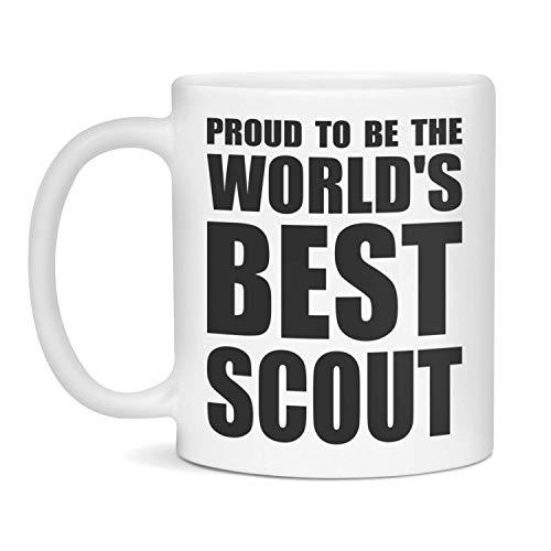 N\A Taza Scout, Regalo Scout, Mejor Scout del Mundo, Scout, Tazas Scout, Regalos Scout, Taza Scout Divertida, Regalo Scout Divertido, Taza para Scout, Regalo para Scout Novedad Taza de café d