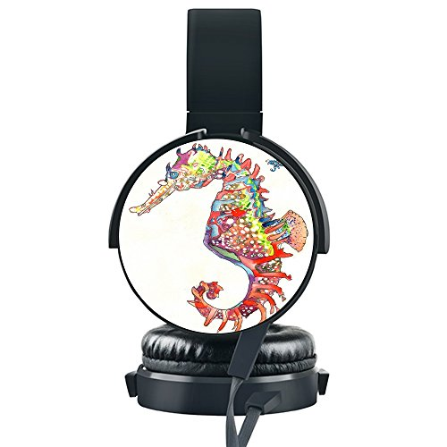 Review Colorful Hippocampus Wired Headset,INmark Fordable Headset [Noise Canceling] [Hands-Free Phon...