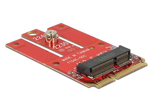 DeLock Adapter Mini PCIe > m.2 Key E Slot