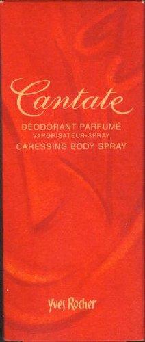 Yves Rocher - Cantade - Deodorant Parfumé - Vaporisateur-Spray - Caressing Body Spray - e75 ml/70 % vol. [Yves Rocher 23017 - parfümiertes Deodorant Zerstäuber]
