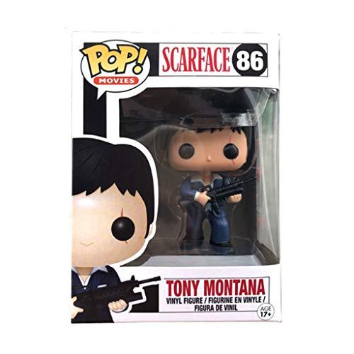 CSH-Películas: El Precio del Poder -, Tony Montana Figura de acción for los Fans del Anime de colección de la muñeca de 3,9 Pulgadas