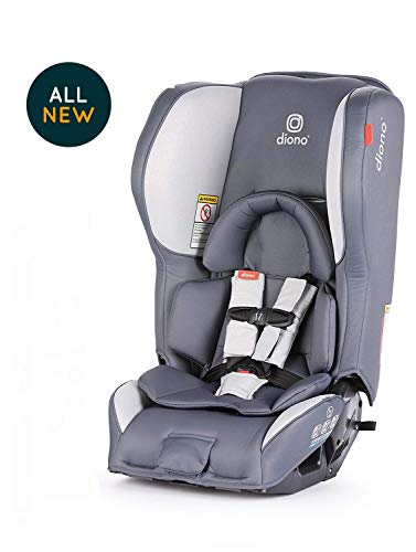 Diono Rainier 2AX Convertible Car Seat, Dark Grey