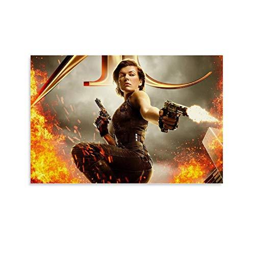DRAGON VINES Resident Evil Apocalypse Survivor Alice Lienzo de impresión de ilustraciones de niño habitación 30 x 45 cm