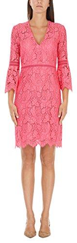 Marc Cain Collections Damen JC 21.79 W99 Kleid, Rosa (Neon Pink 290), (Herstellergröße: N4 / 40)