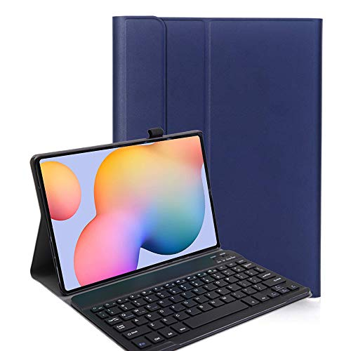 YGoal Teclado Funda para Galaxy Tab S6 Lite 2020, QWERTY