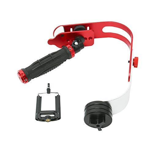 Pro - Estabilizador de cámara de vídeo portátil para GoPro, Smartphone, DSLR, videocámaras, Canon, Nikon, cámara digital o cualquier cámara de hasta 0,95 kg