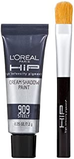 L'Oreal HiP Cream Shadow Paints - Steely by L'Oreal Paris