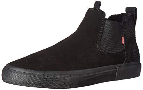Globe Men's Dover Skate Shoe, Black TF, 12 Medium US