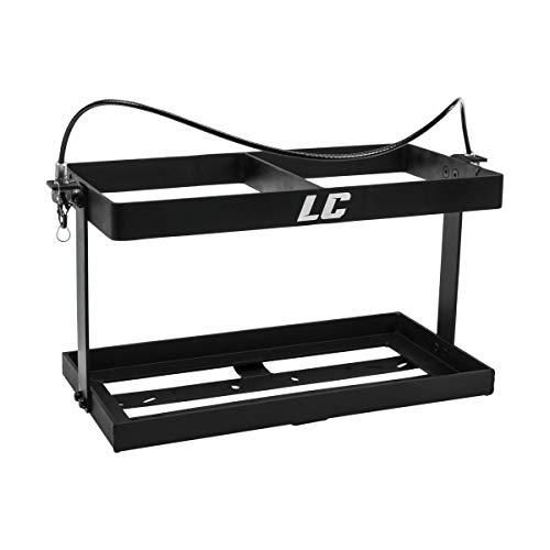 Open Trail LC LC2 Jug Rack (2 Jug / 10.5in x 21in) (Black)