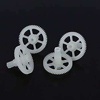 MOTOR GEAR DRIVER4 X P  PROTOCOL RC PARTS FOR Galileo Stealth 6182- CHECK SECOND PICTURE ABOUT DRONE