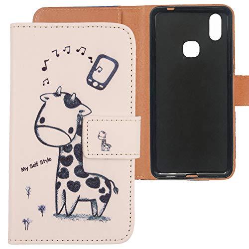 Lankashi PU Flip Leder Tasche Hülle Hülle Cover TPU Silikon Schale Handytasche Schutzhülle Etui Skin Für Cubot Max 2 6.8