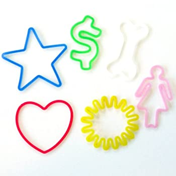 Silly Bandz Fun Shapes - 24 Pack