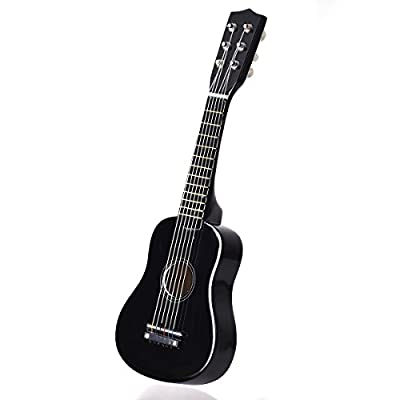 "Goplus 21"" Beginners Kids Acoustic Guitar 6 String with Pick Children Kids Musical Gift"