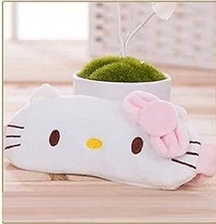 CJB Lovely Hello Kitty Eye Mask for Sleeping Travel Games KT Smile (US Seller)