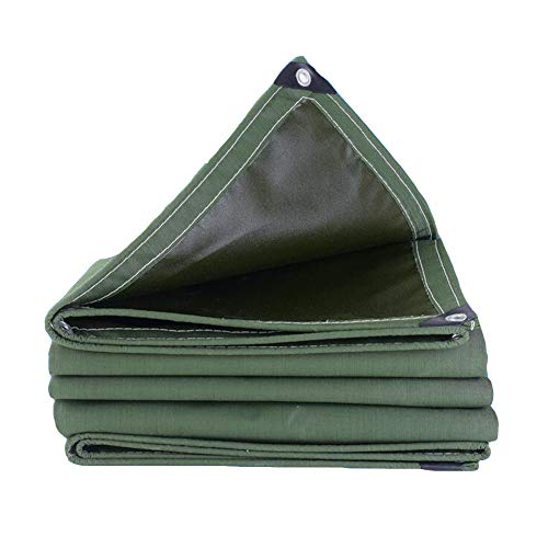 WYYY Plane Dick Wasserdicht Regenfest Sonnencreme Plane Korrosionsschutz Frostschutzmittel Anti-Aging-Foldable (Color : Green, Size : 4×5m)