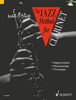 Jazz Method for Clarinet (Tutor Book & CD)