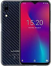 UMIDIGI One Max, 4GB+128GB, US Version, Dual Back Cameras, Face ID & Side Fingerprint ID, 6.3 inch Android 8.1 MTK Helio P23, 4G, NFC, OTG, Dual SIM (Carbon Fiber Black)