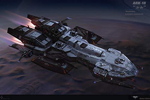 ZGNH Rompecabezas 1000 Piezas Barco Transbordador Espacial de Ciencia ficción Madera Puzzle, niño Juguete Educativo Intelectual de Adulto descompresión,Regalo Ideal La Mejor DIY Decoración hogareña
