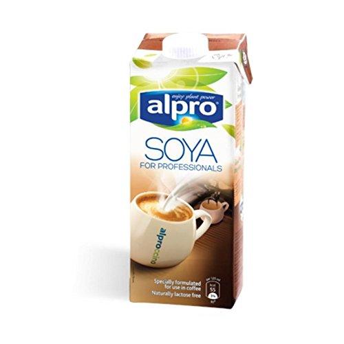 Alpro Soya Drink für Professionals - 1 l laktosefrei, vegan (perfekt zum Aufschäumen)