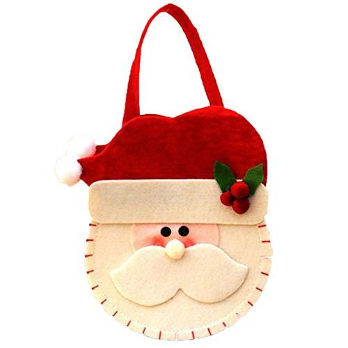 Aiming 3D Natale In Feltro Panno Dolci Borse Del Sacchetto Di Babbo Natale/Pupazzo Di Neve/Deer Dolci Regalo Borse Xmas Decor