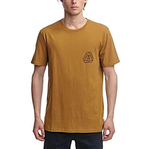 Globe Edge of Paradise Tee T-Shirt à Manches Courtes Mixte, pacanier, XXL