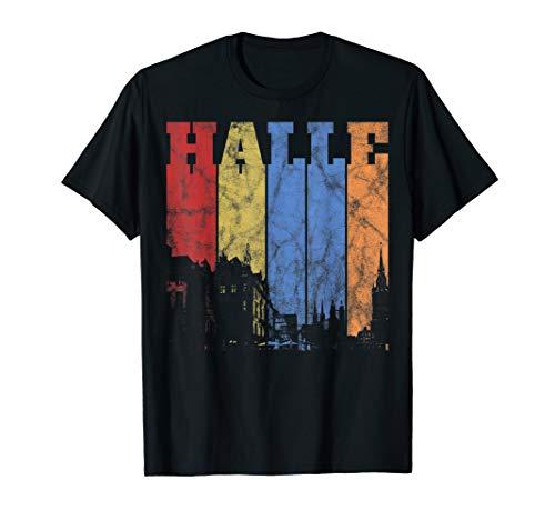 Halle (Saale) Geschenkidee für Hallenser und Hallunken T-Shirt