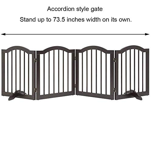 41gzHGIM7BL The TOP 7 Best Free Standing Baby Gates 2021 Review