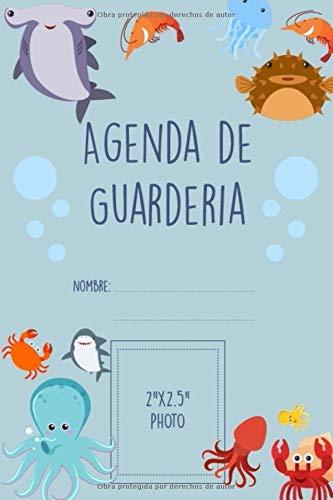 Agenda de Guarderia nombre:: El cuaderno de bitácora del bebé para facilitar la comunicación con la niñera, la guardería, el jardín de infantes u otros cuidadores I 60 días para rellenar