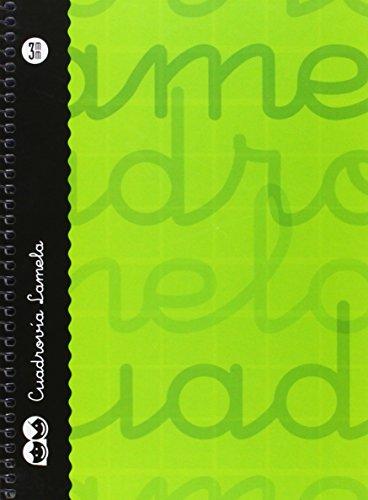 Lamela 7CTE003V - Cuaderno en espiral 4º, color verde