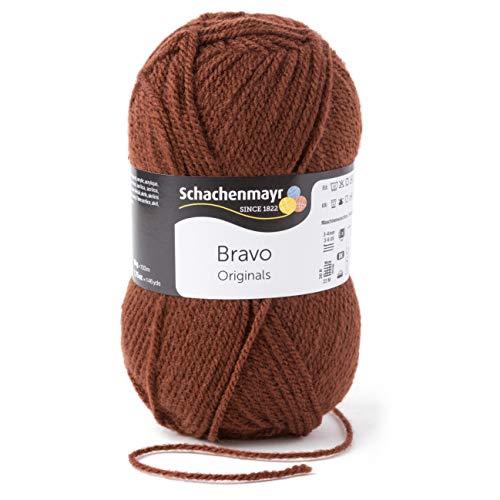 Schachenmayr Handstrickgarne Bravo, 50G Braun