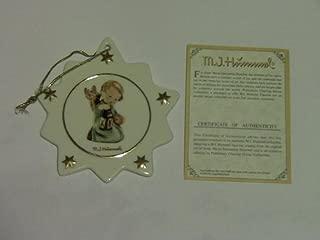 M.I. Hummel Porcelain Star Shaped Christmas Tree Ornament #B561 Guiding Angel