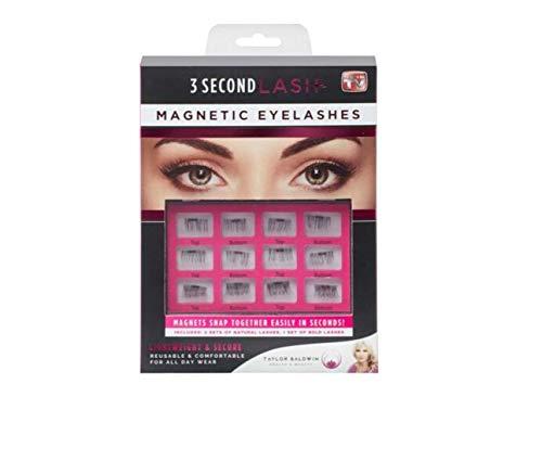 6Pairs Ladies Beautiful 3D Magnetic False Eyelashes Natural Soft Eye Makeup