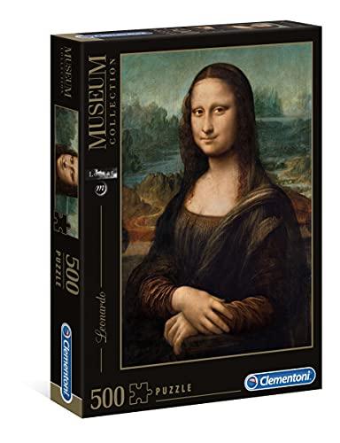 Clementoni Leonardo DaVinci Mona Lisa Puzzle (500-Piece)