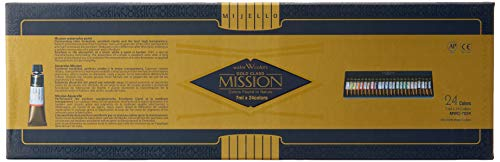 Mijello Mission Gold Water Color Set, 24 Colors