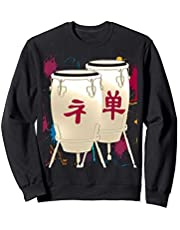 Conga Drum Japanese Drumming Musician Gift Sudadera