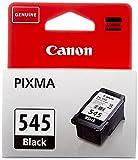 Canon PG-545 Cartucho de tinta original Negro para Impresora de Inyeccion de tinta Pixma TS3150-TS3151-MX495-MG2450-MG2550-MG2550S-MG2555S-MG2950-MG3050-MG3051-MG3052-MG3053-IP2850