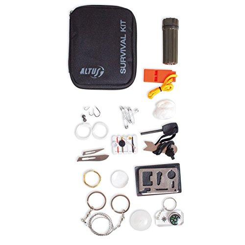 ALTUS 5122501 - Kit de Supervivencia, Unisex, Multicolor, Talla única