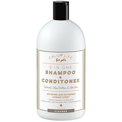 Calily Life Organic Dog and Cat Shampoo + Conditioner, 32.96 Oz (...