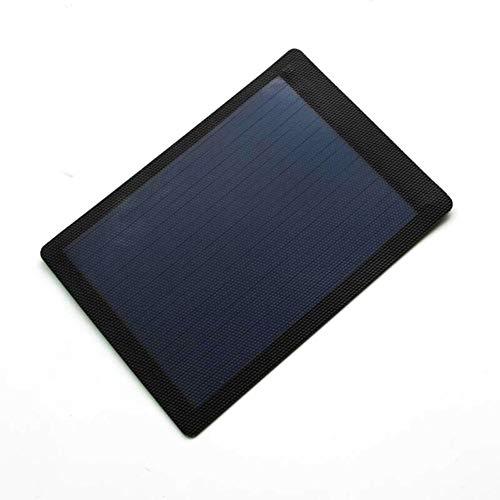 WNTHBJ Flexible Folie 1.5W 2V, Solarpanel leicht und flexibel DIY Klappladeplatte, Außennotfallsolarladebrett, Familie Reise (PC 1)