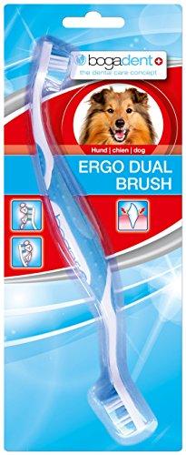Bogadent UBO0711 Ergo Dual Brush Hund, 1 Stück