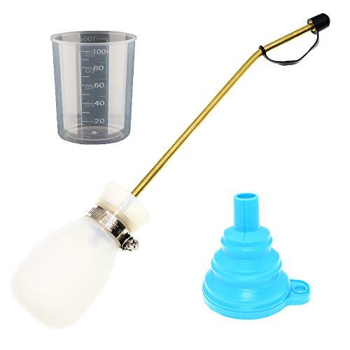 BITEYI Mini Applicateur Distributeur pour Insecticide Pulvérisateur de Terre de Diatomée Poudreuse Anti-Insectes Volants (Blanc)